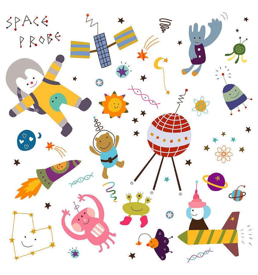 Space Exploration Digital Art by Eastnine Inc.