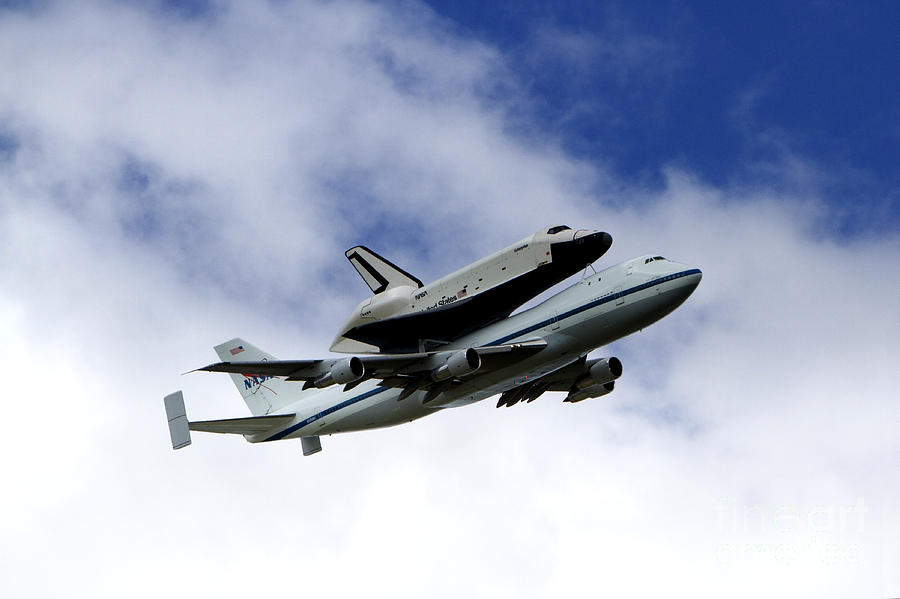 Uss Intrepid Photograph - Space Shuttle Enterprise by Thanh Tran