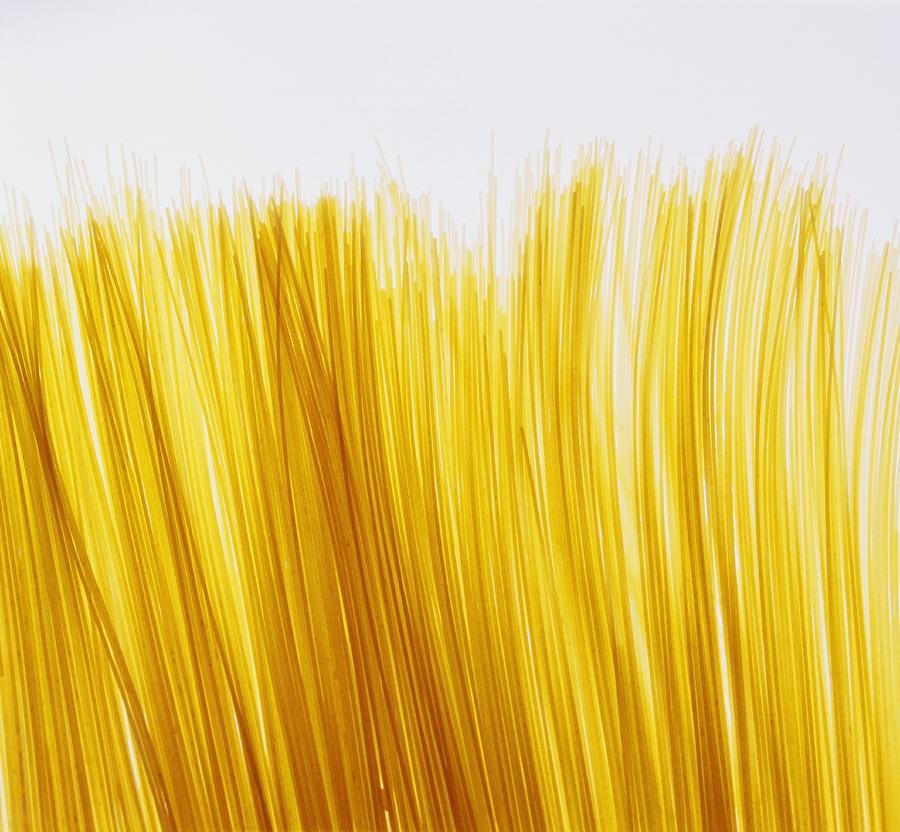 Pasta Photograph - Spaghetti by David Chapman