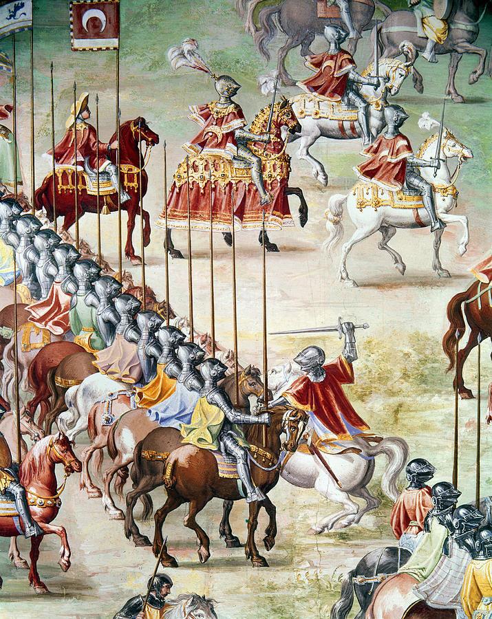 1431 Photograph - Spain: Higueruela, 1431 by Granger