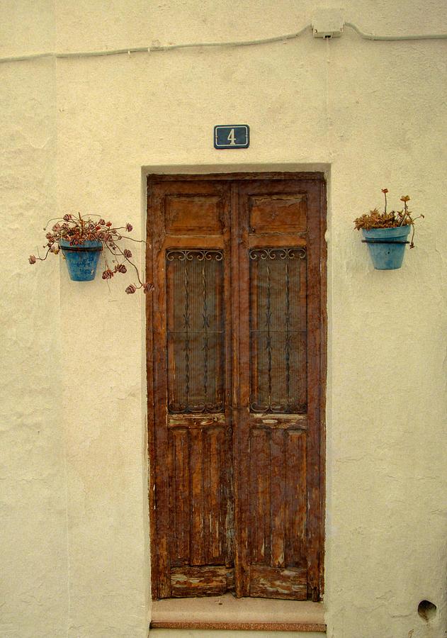 Spain Photograph - Spanish Doorstep by Perry Van Munster