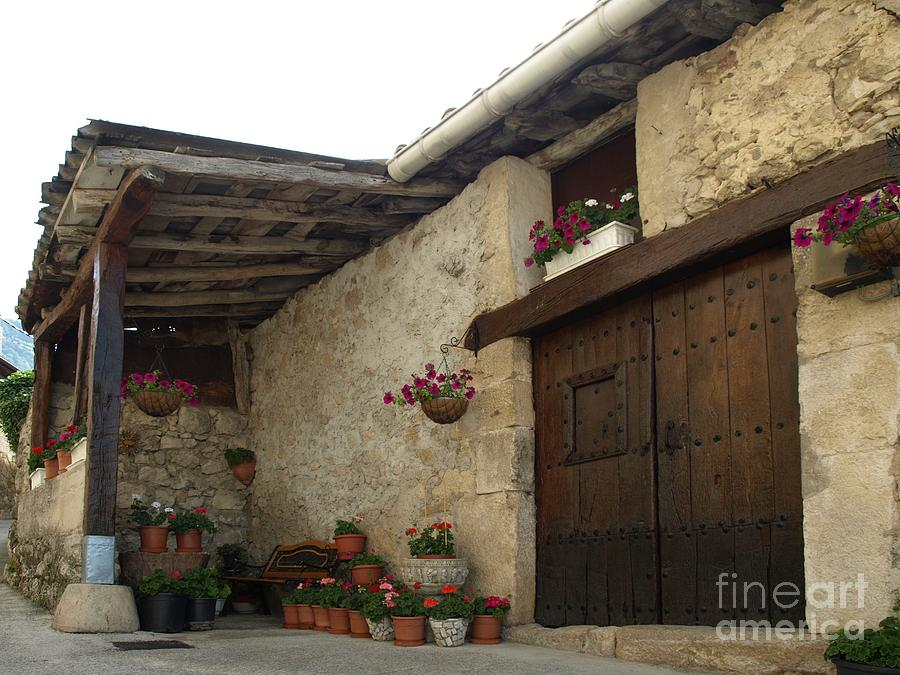 House Photograph - Spanish Rural House by Alfredo Rodriguez