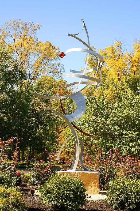 Sculpture Sculpture - Spatial Summersaults by Mac Worthington