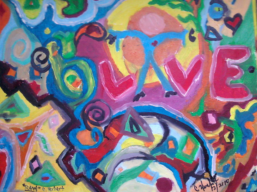 Special Drop Of Love Painting by Catherine Herbert