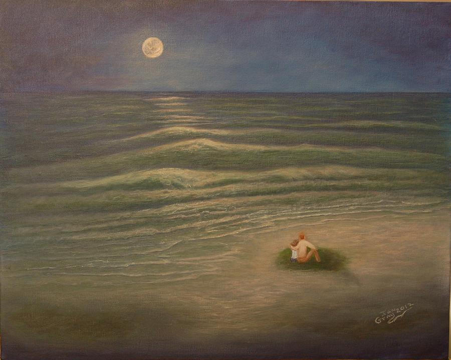 Seascape Painting - Special Memories by Jan Gray