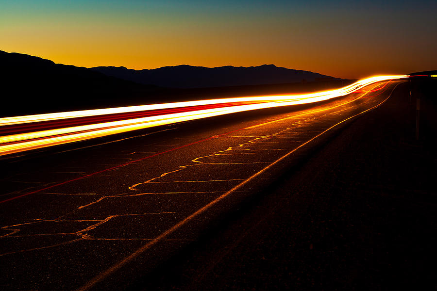 Death Valley National Park Photograph - Speed Of Light by James Marvin Phelps