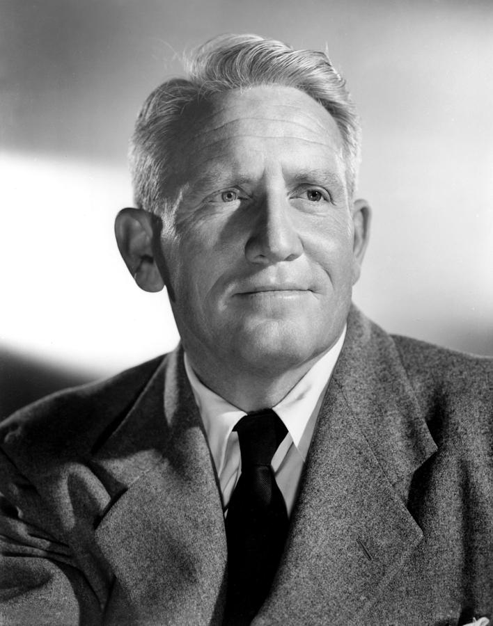 Portrait Photograph - Spencer Tracy, 1940s by Everett
