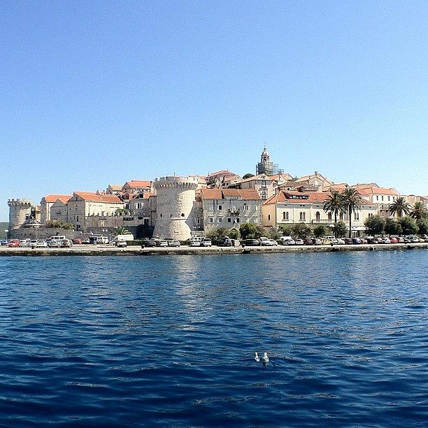 Spent The Day In Korcula On The Way To Photograph by Alan Khalfin