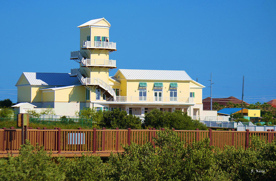 South Padre Island Photograph - Spi Birding Center From The Boardwalk by Roena King
