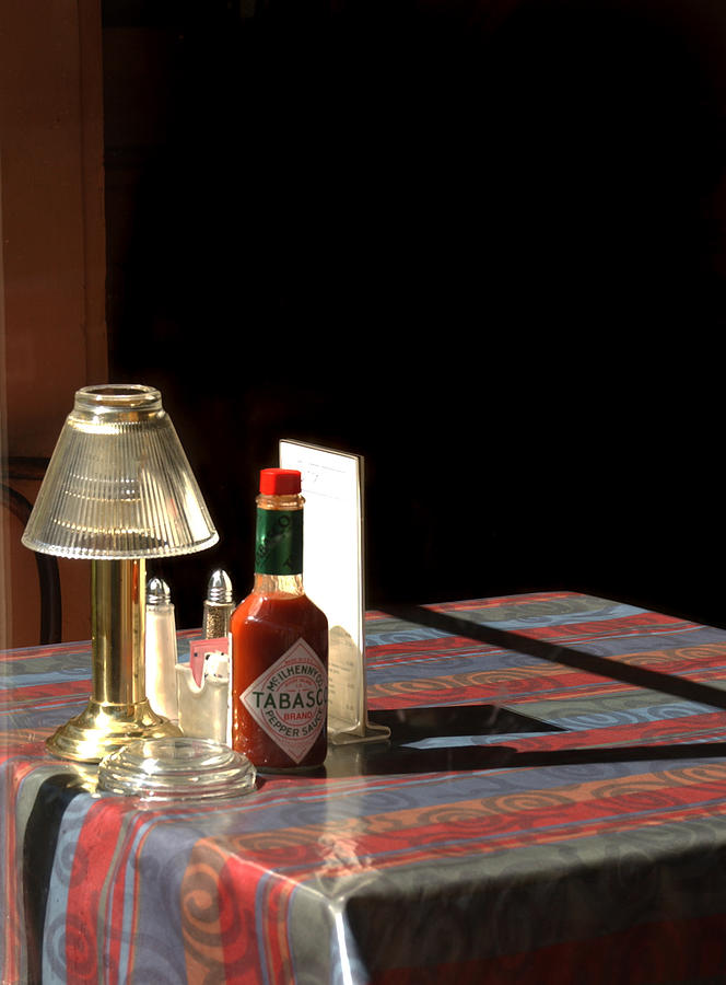 Tabasco Sauce Photograph - Spice Of Life by Greg and Chrystal Mimbs