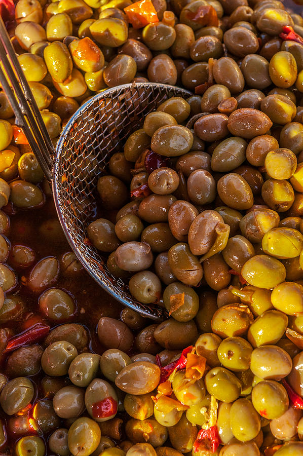 Spiced olives green by Philippe Taka