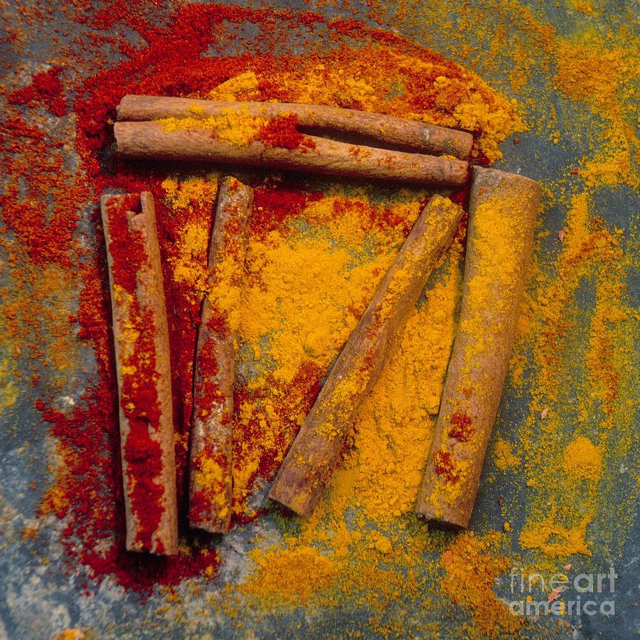 Works Photograph - Spices by Bernard Jaubert