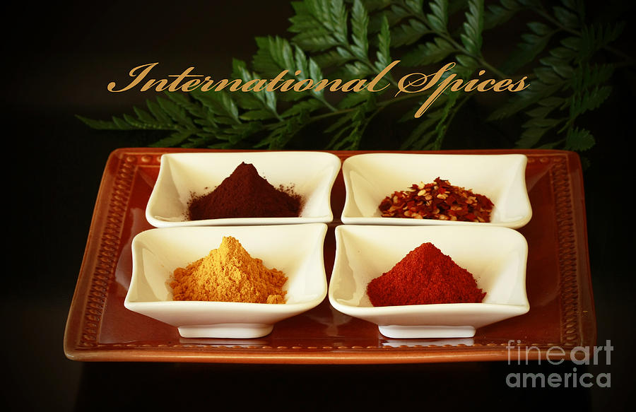 Spices Photograph - Spices From Around The World by Inspired Nature Photography Fine Art Photography