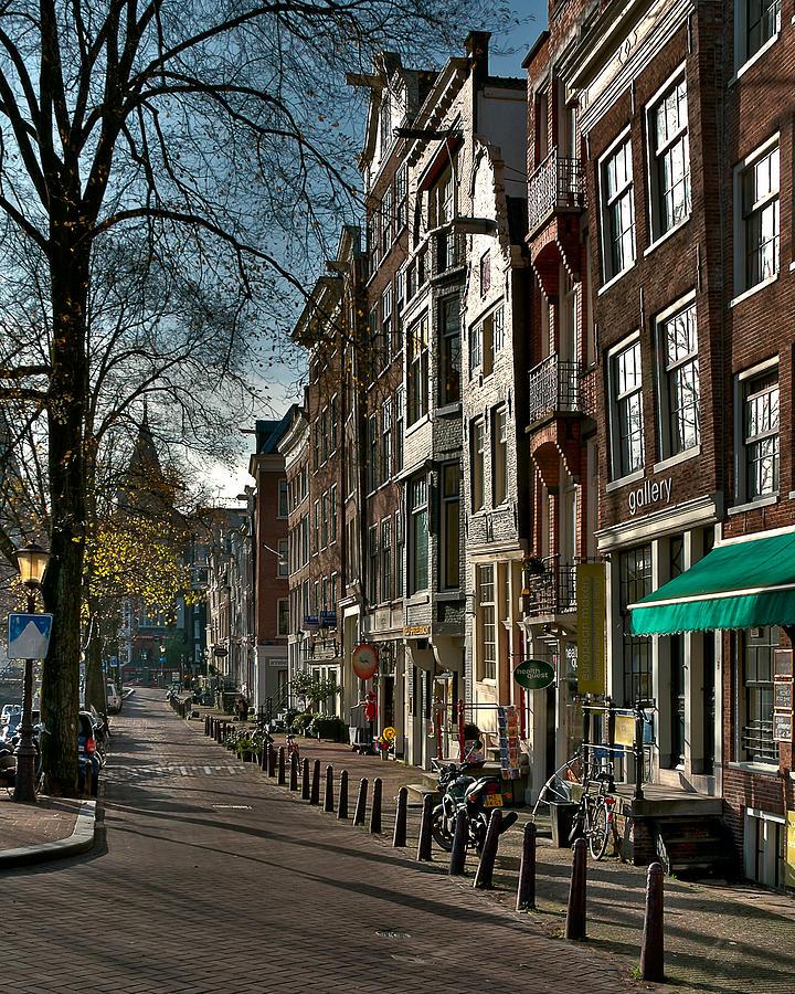 Holland Amsterdam Photograph - Spiegelgracht Gallery. Amsterdam by Juan Carlos Ferro Duque