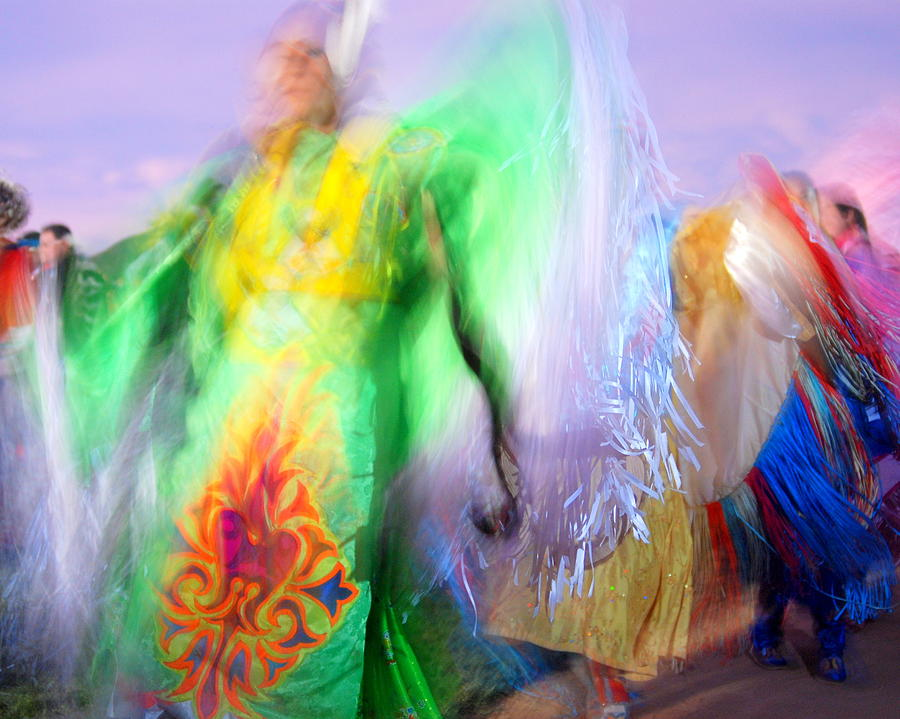 Colorful Photograph - Spirit Dancers by Vicki Coover