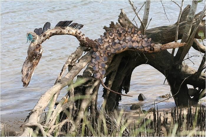 Horses Sculpture - Spirit Horse by Karen Elzinga