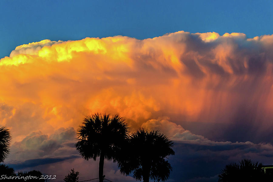 Storm Photograph - Spirit In The Clouds by Shannon Harrington