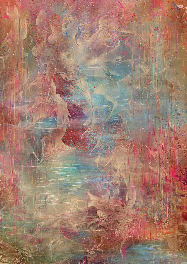 Spirit Painting - Spirit Of The Waters by Rachel Christine Nowicki