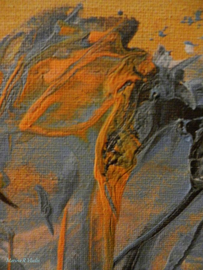 Painting - Spiritual Travelers by Marina R Raimondo