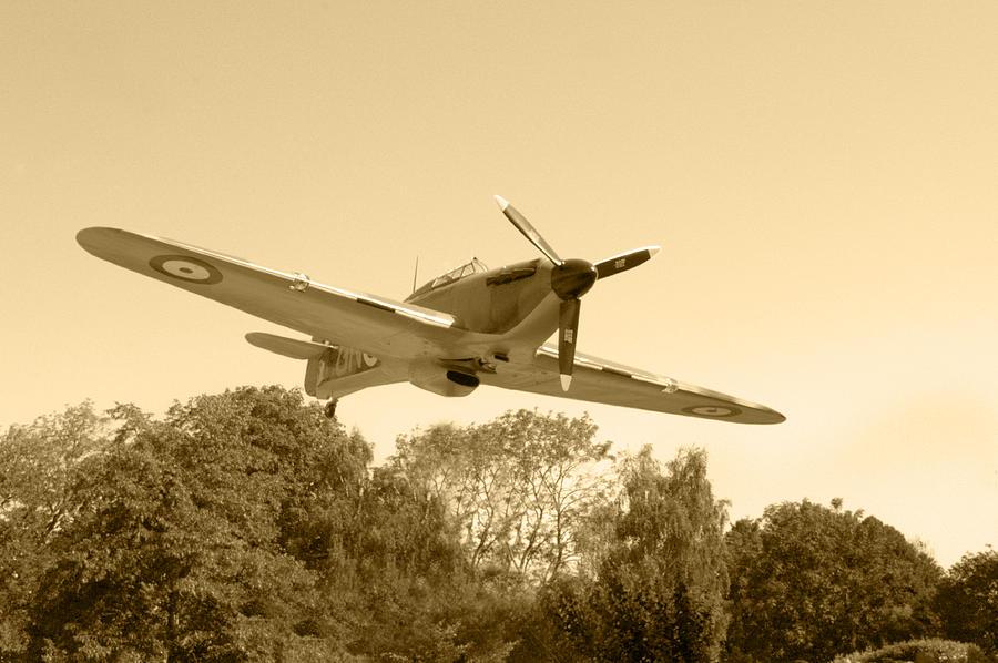 Spitfire Photograph - Spitfire by Chris Day