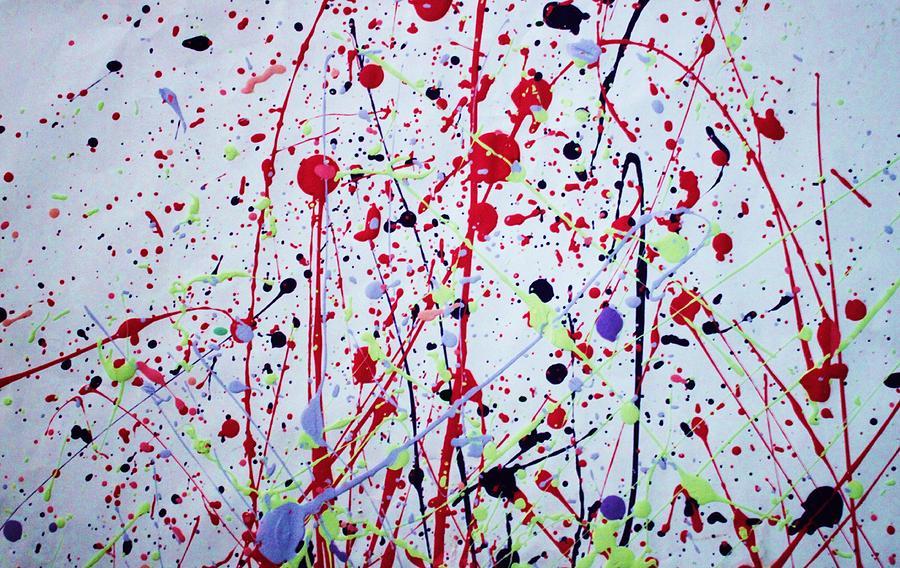 Splatter Painting Artist For Kids