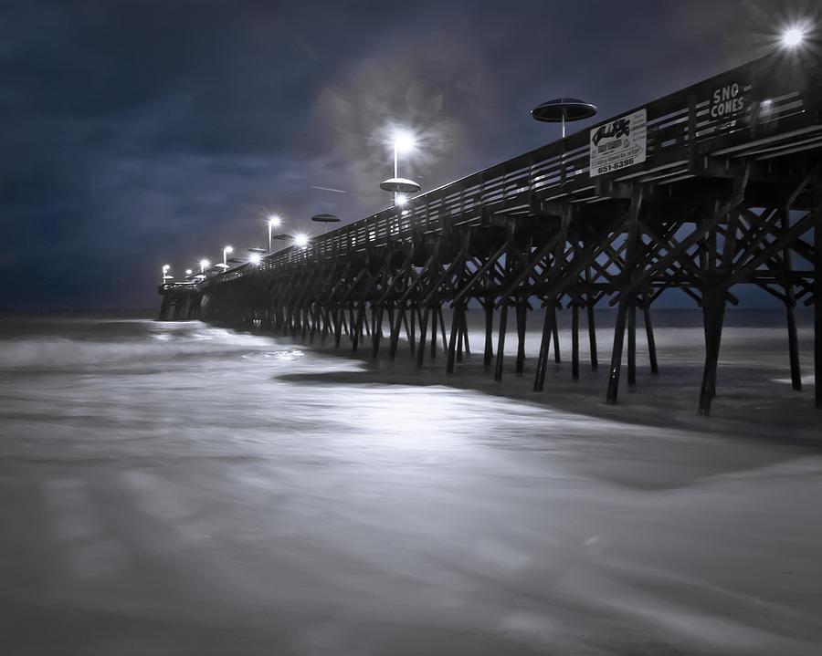 Pier Photograph - Spooky Pier by Francis Trudeau