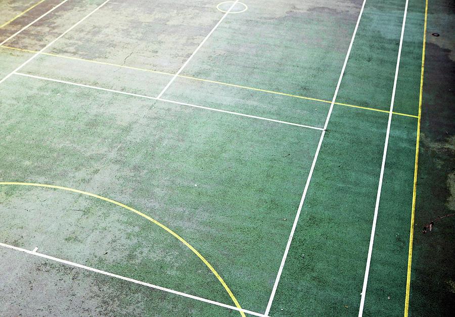Horizontal Photograph - Sports Court by Richard Newstead