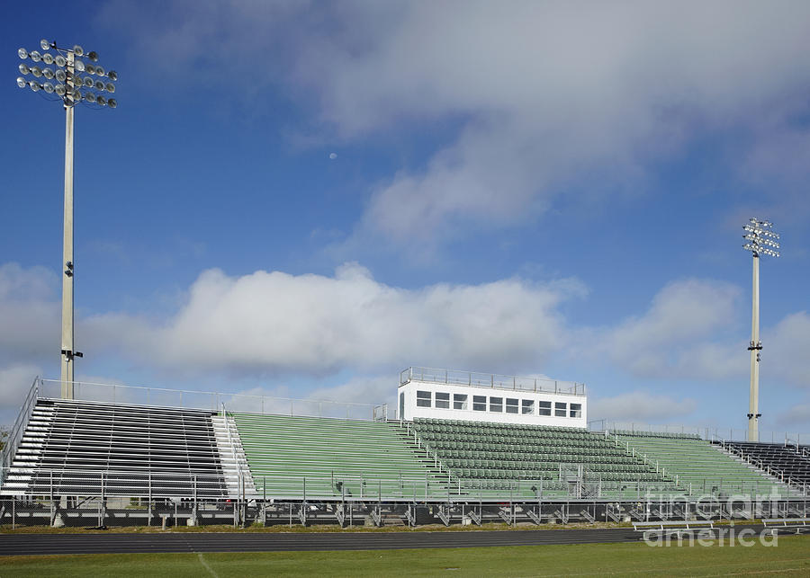 Athletic Photograph - Sports Field by Skip Nall