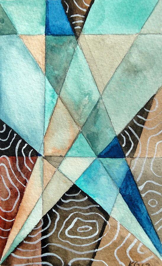 Small Painting - Spotlight by Kimberly Garvey
