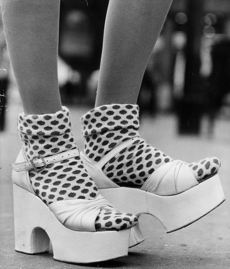Adults Only Photograph - Spotty Socks by Gunnar Larsen