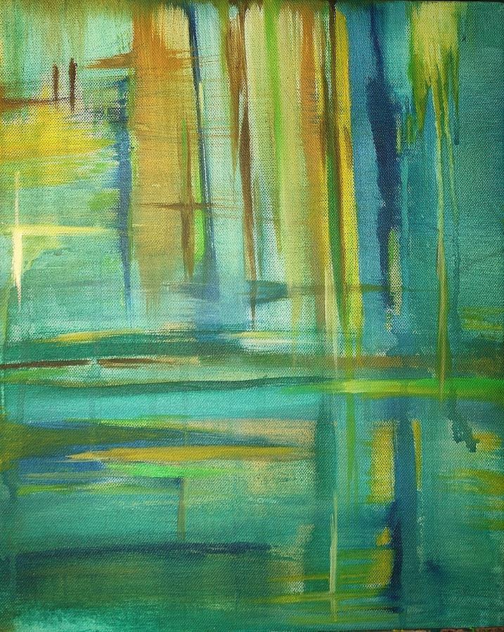 Spring Painting - Spring by Derya  Aktas