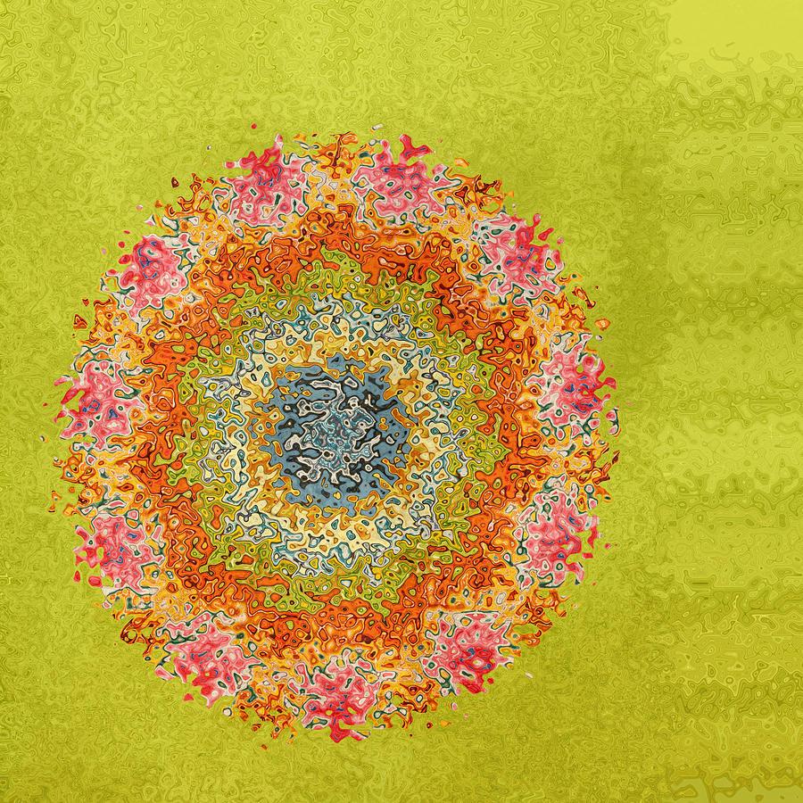 Spring Colors Digital Art - Spring Dream by Bonnie Bruno