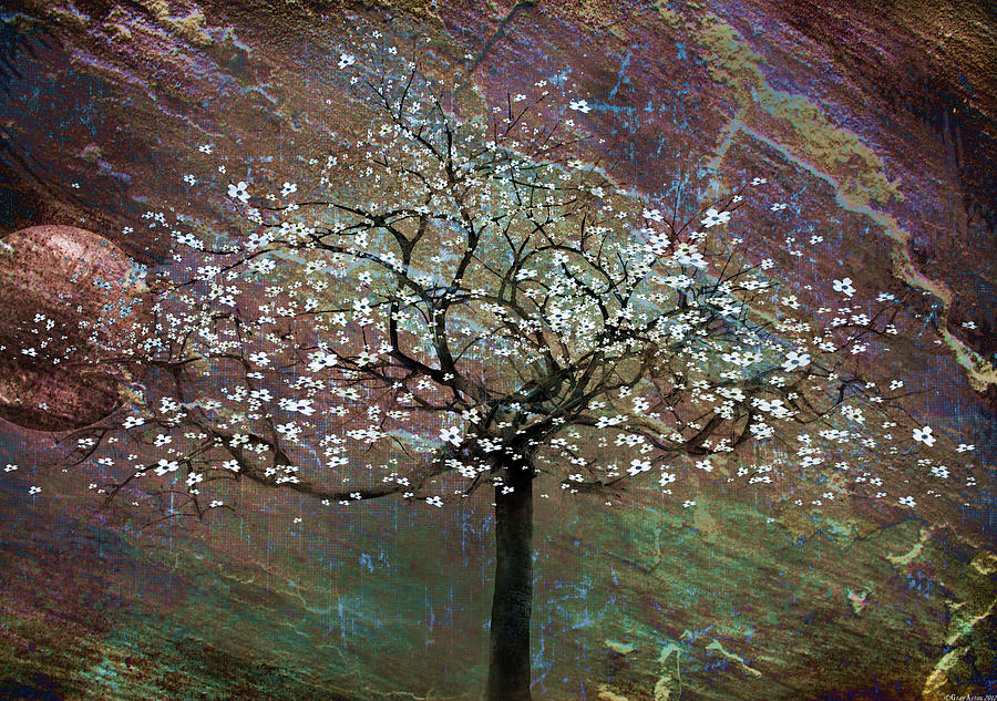 Tree Painting - Spring Dreaming by Gray  Artus