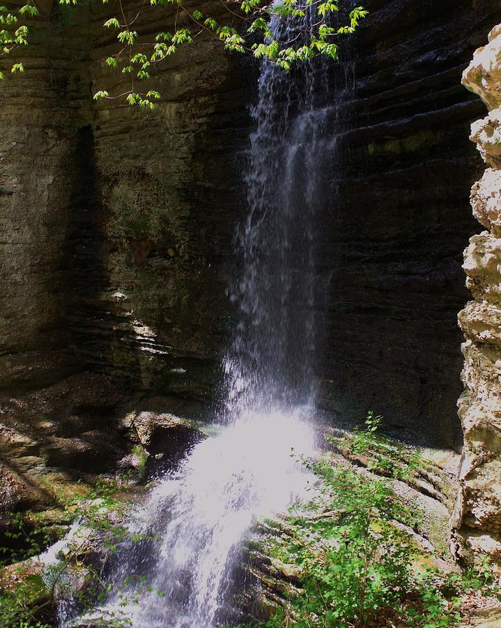 Falls Photograph - Spring Falls I by Anna Villarreal Garbis