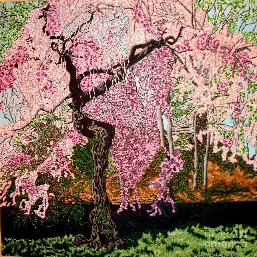 Spring Painting - Spring Fever by Brenda Marik-schmidt
