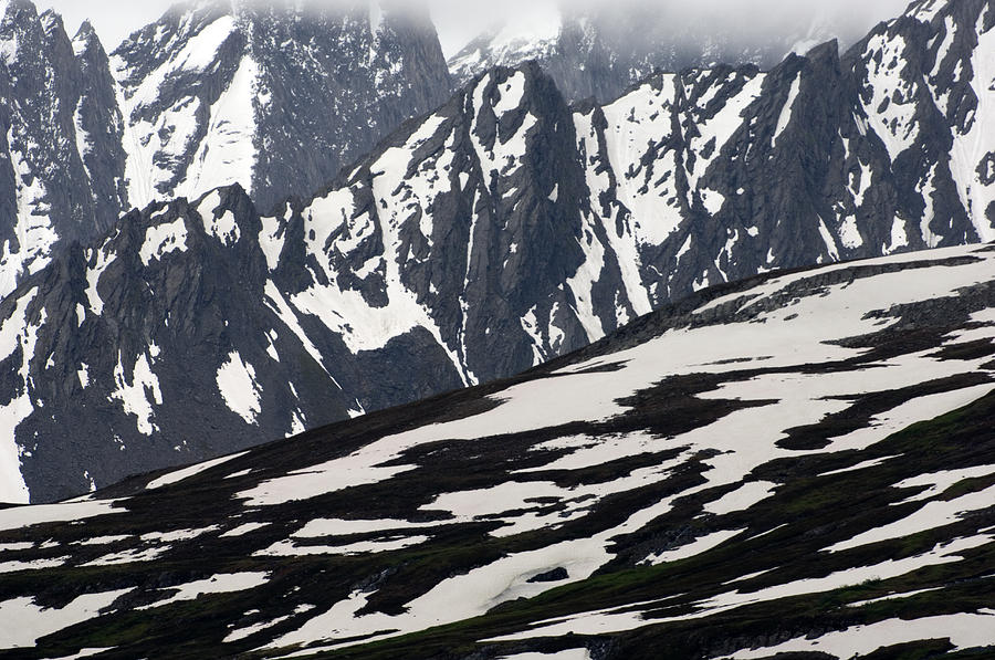 Nobody Photograph - Spring In Alaska Mountains by Michael S. Quinton