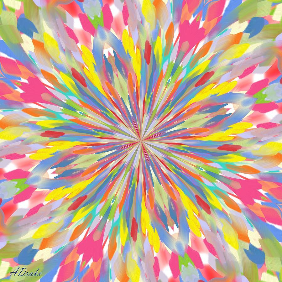 Spring Digital Art - Spring Is Bursting Out by Alec Drake
