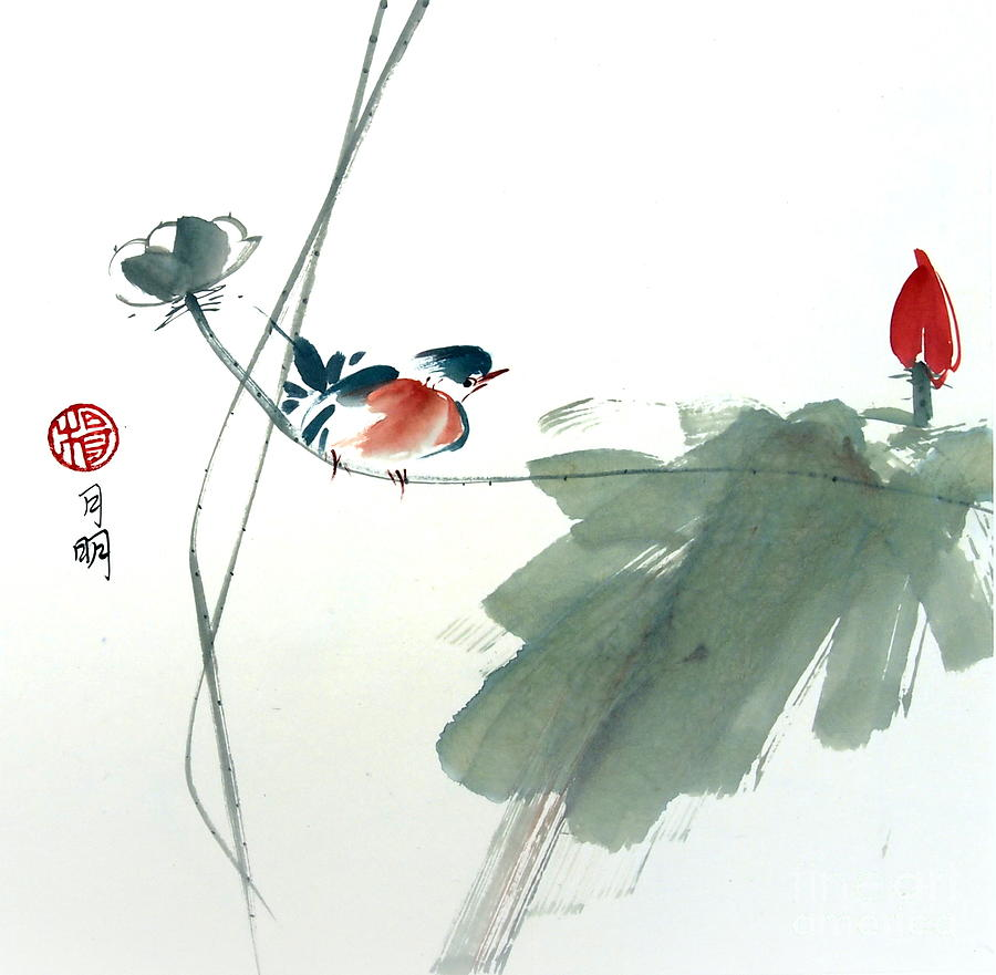 Flora Painting - Spring Melody by Ming Yeung