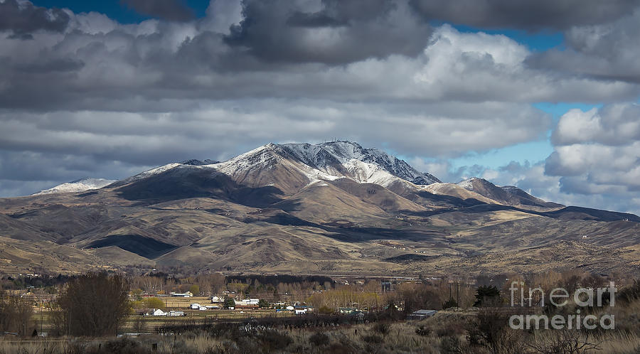 Gem County Photograph - Spring Snow by Robert Bales
