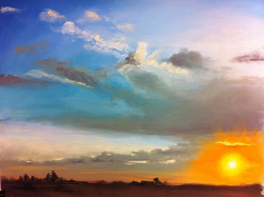 Sunset Pastel - Springfield Sunset by Prashant Shah