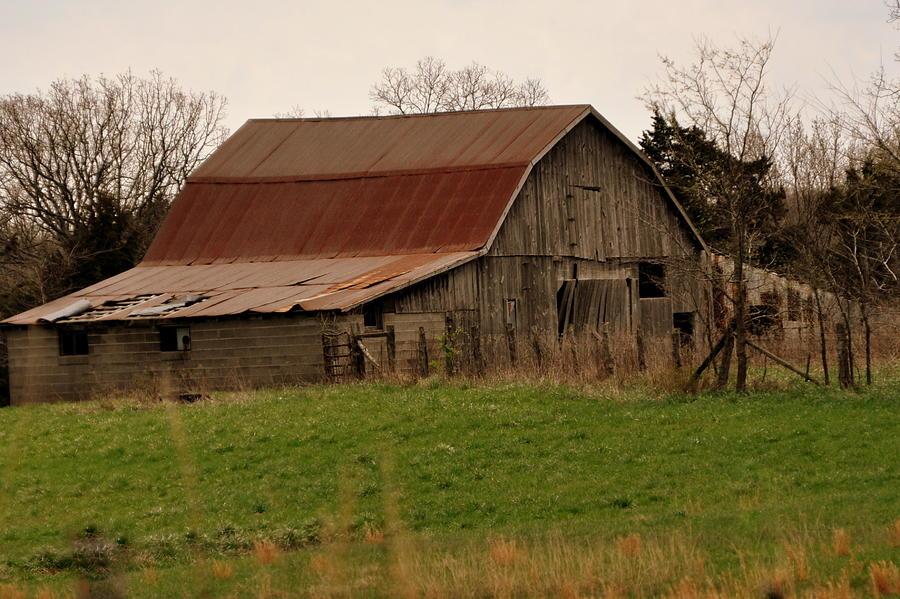 Barn Photograph - Springtime Barn by Marty Koch