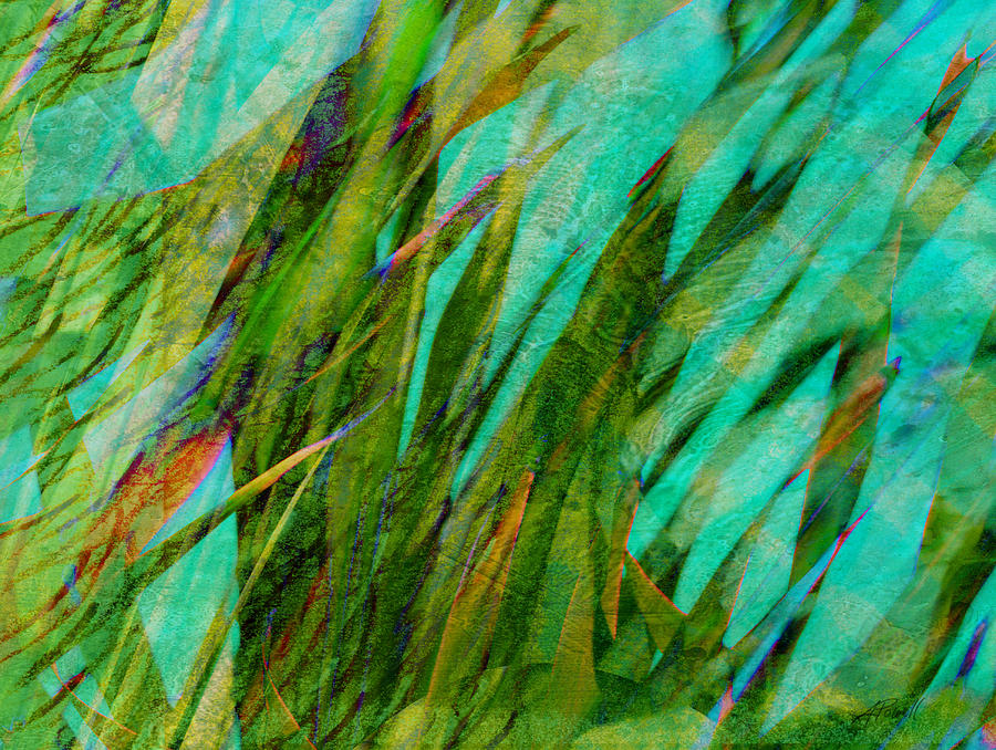 Abstract Photograph - Springtime Joy by Ann Powell