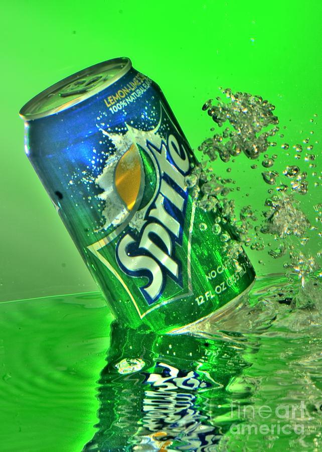 Sprite Photograph - Sprite Splash by Corky Willis Atlanta Photography