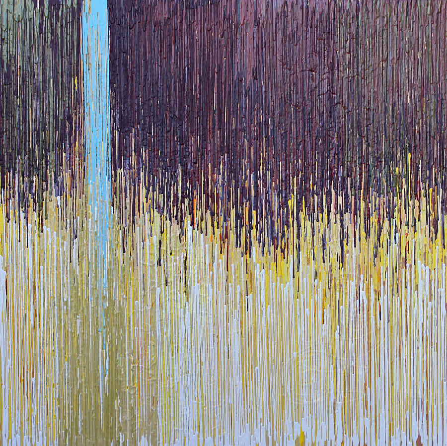 Abstract Painting - Sprung by Kate Tesch