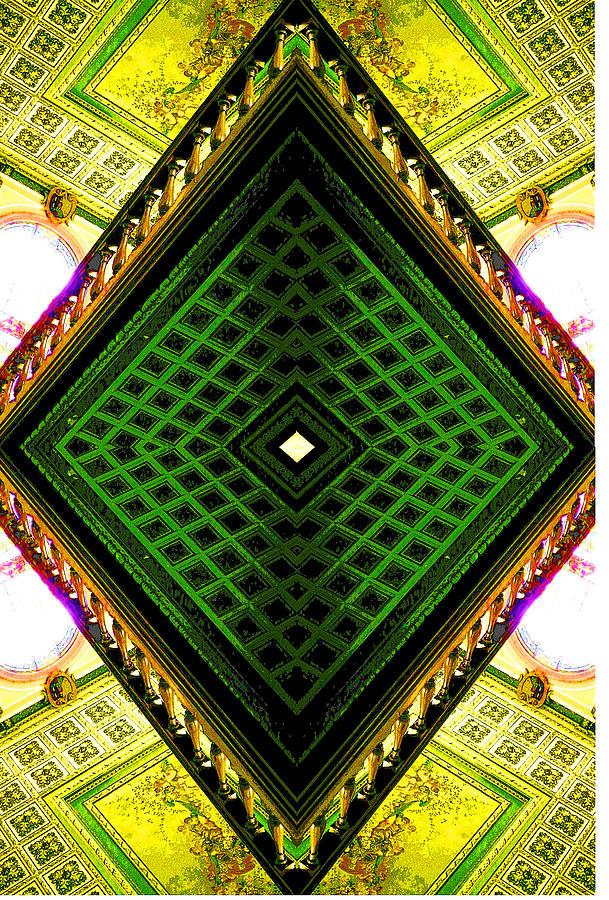 Abstract Photograph - Square by Jesus Nicolas Castanon