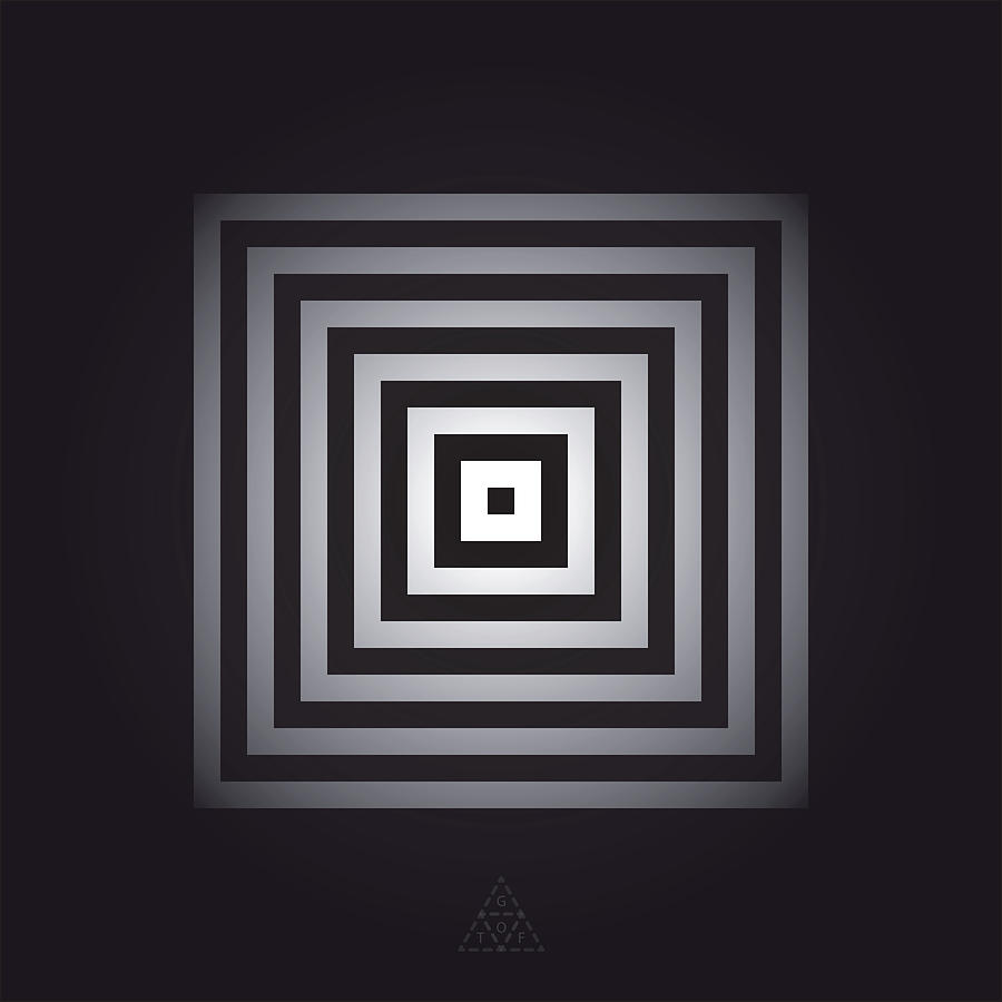 Optical Digital Art - Square Pulse V15.2 by Guardians of the Future