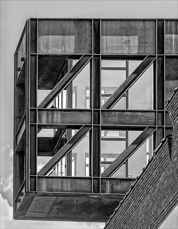 Architecture Photograph - Squares In The Sky by Robert Ullmann