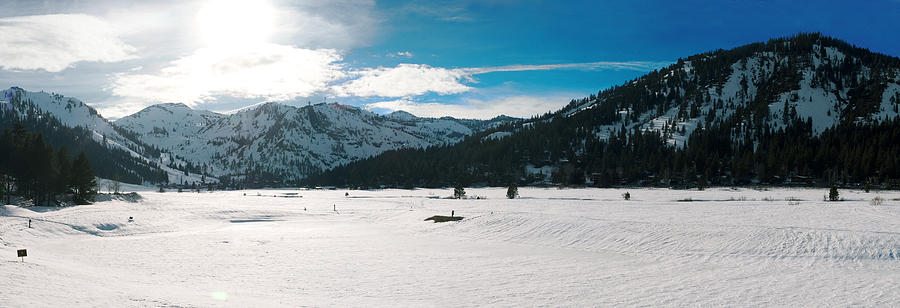 Squaw Valley Panoramic Photograph by Adam Blankenship