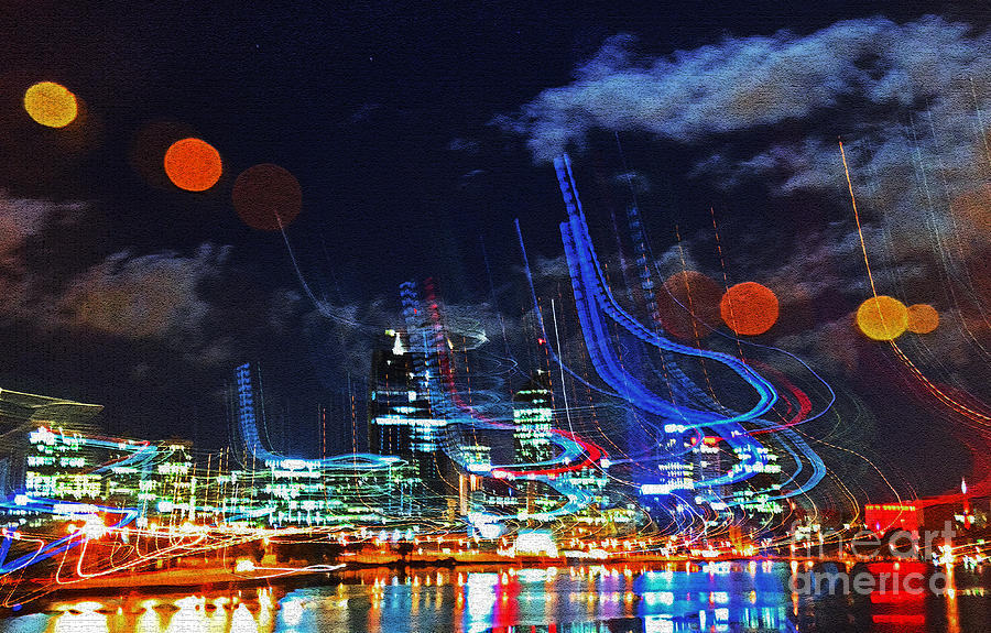 Perth Photograph - Squiggles by Rob Hawkins