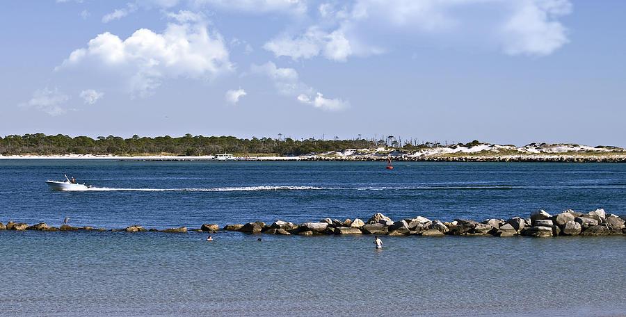 Ocean Photograph - St. Andrews Island by Susan Leggett